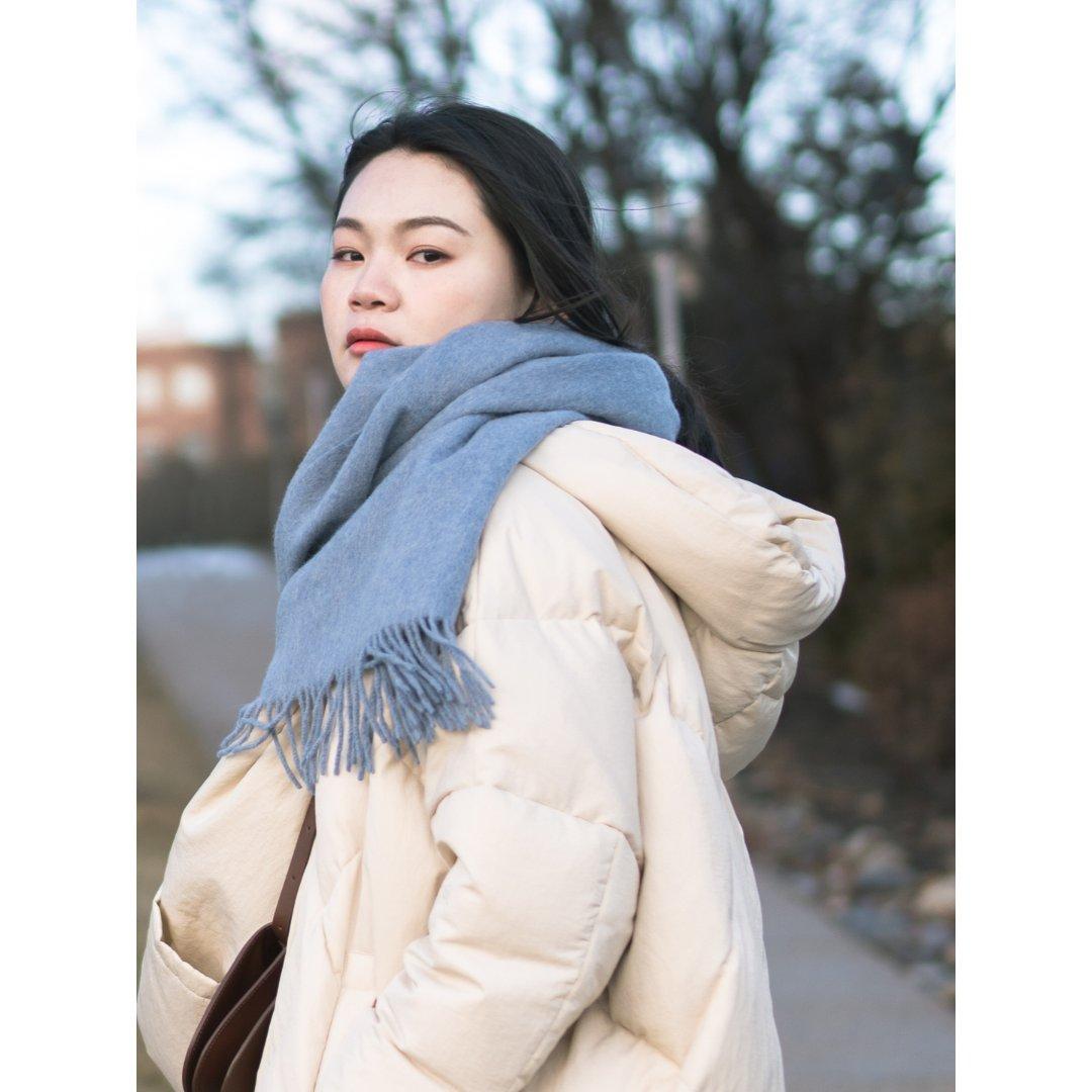 穿搭|清冷的冬季