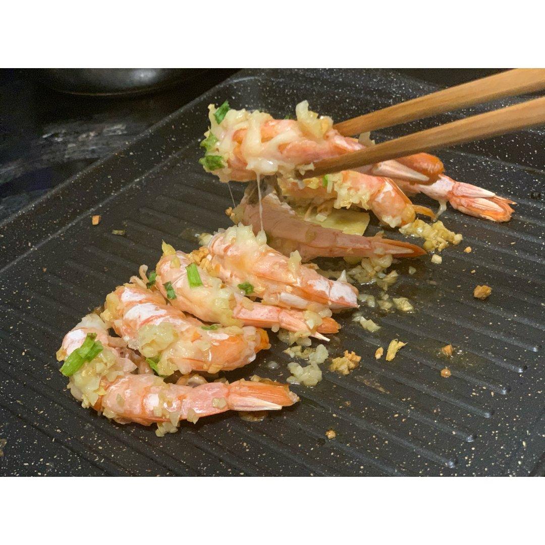 做一份烤芝士焗虾吧🦐