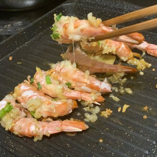 做一份烤芝士焗虾吧🦐...