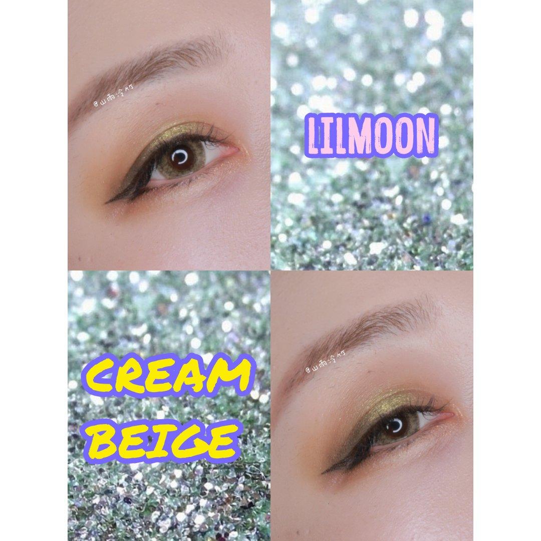 美瞳|Lilmoon自然混血咸菜色...