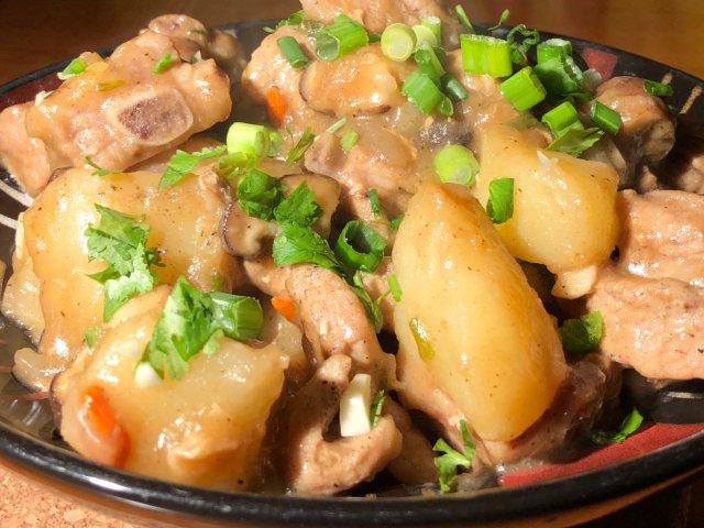黑五6.4🥔排骨烧土豆