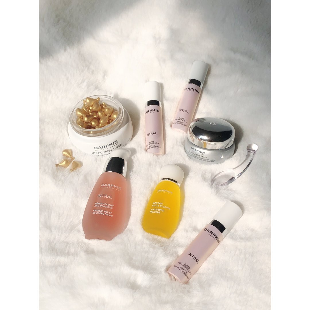 芳香8花精华,粉安瓶,维他命C&E精华,明星小粉瓶,深海银钻眼霜