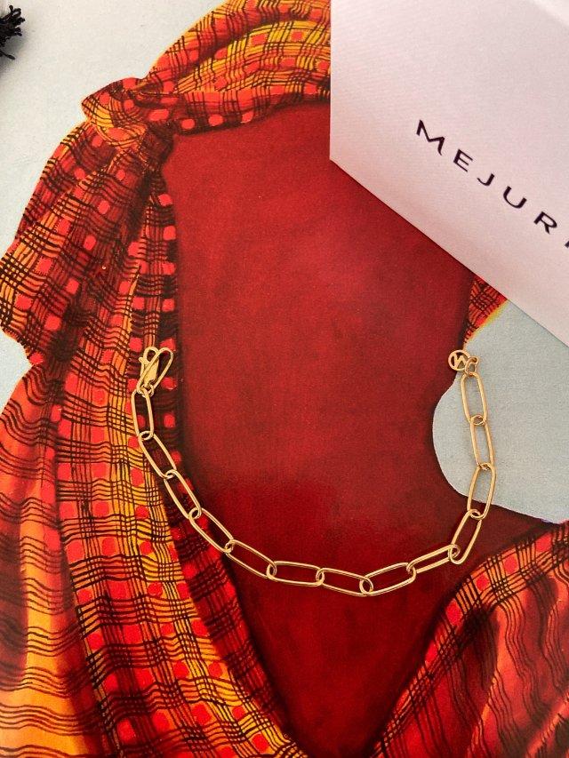 Mejuri|法式简约链条元素手链