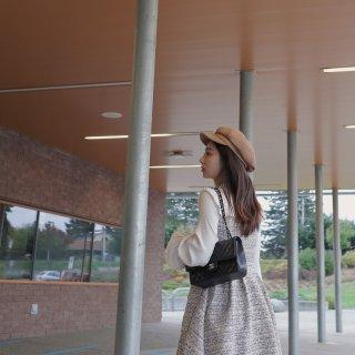 🍂秋天穿啥子系列🥐小香风裙裙飘起奶呀😚...