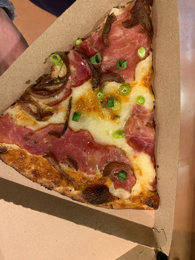 emmmmm拔草了这一片pizza