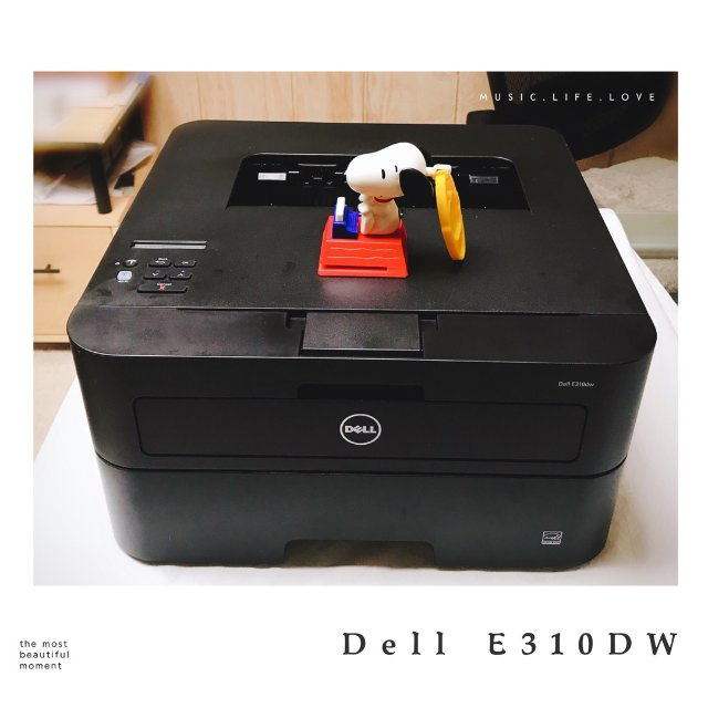 Dell E310dw黑白激光打印...