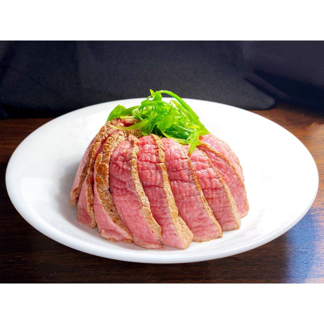 Ariel减肥餐82:无油低脂牛排饭