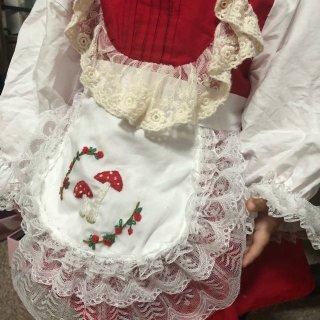 给小裙子加上了个围裙...