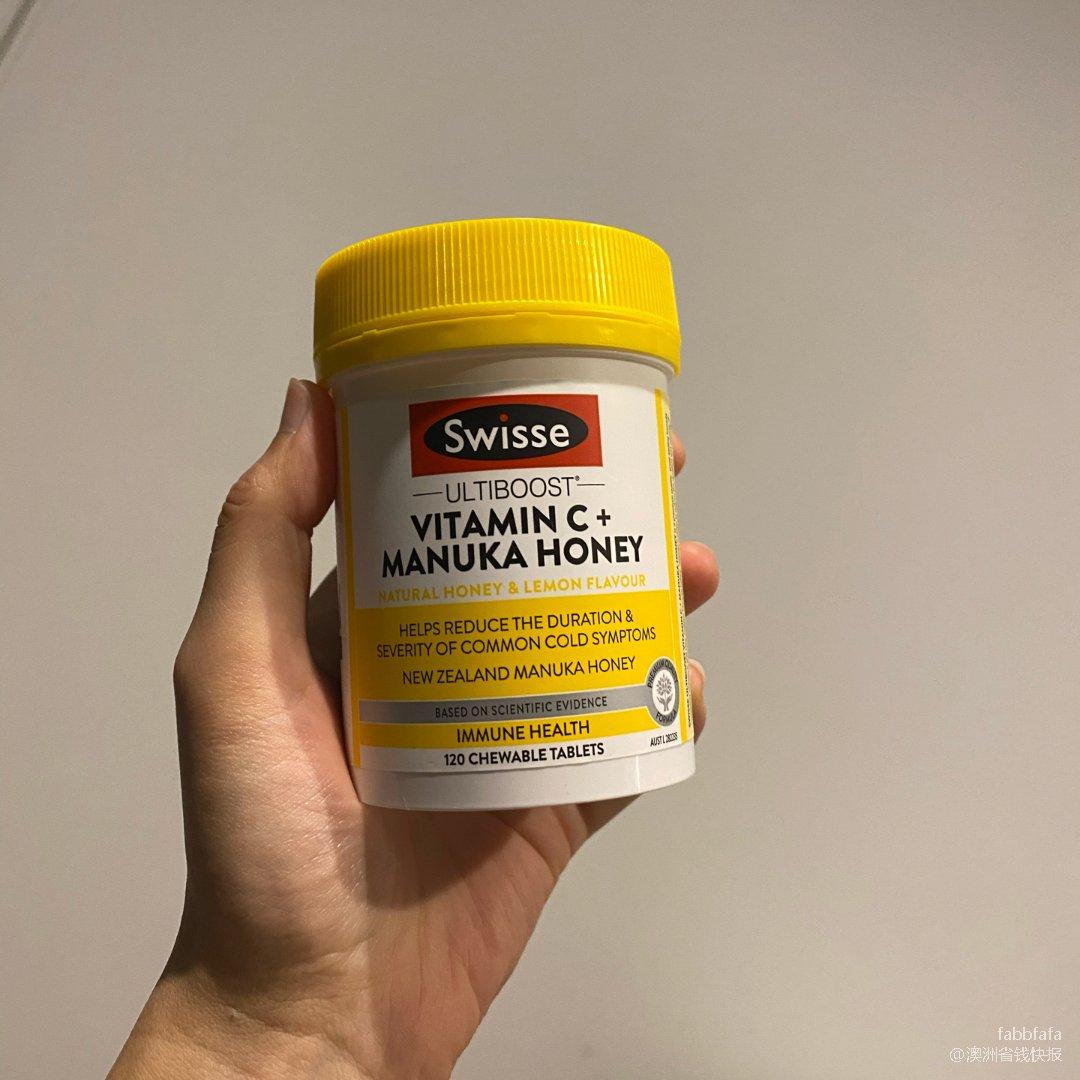 Swisse 瑞思,Vitamin C + Manuka Honey