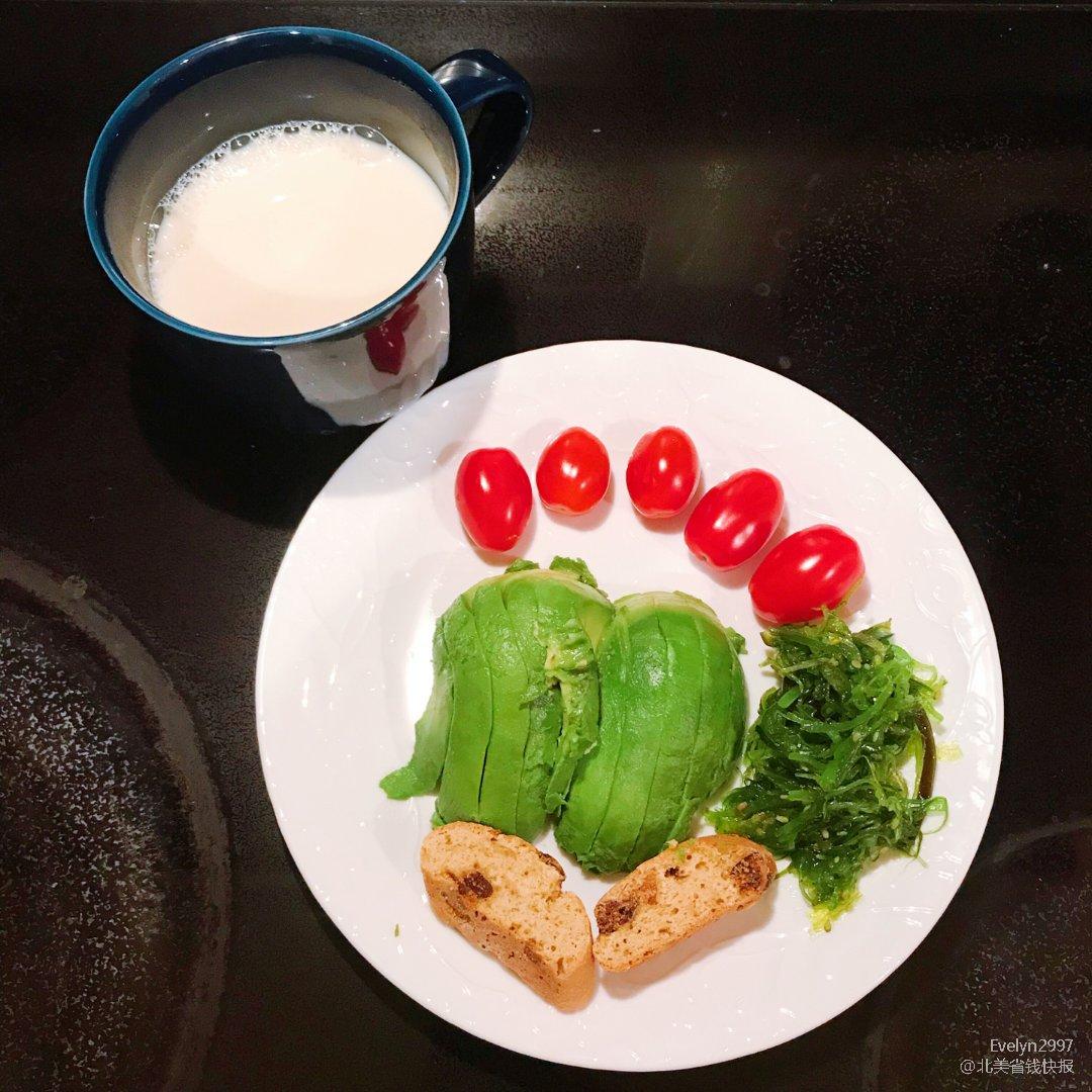 1⃣️ 早餐吃什么