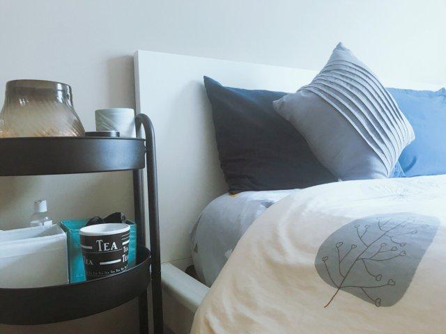 🌊🐚海洋风简约系的卧室