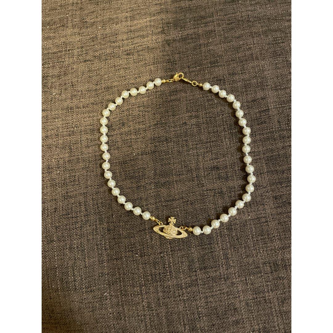 珍珠土星项链,Vivienne Westwood 薇薇安·威斯特伍德