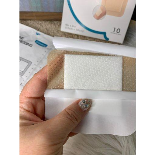 【微众测】Dimora带粘边硅胶泡沫高端敷料。