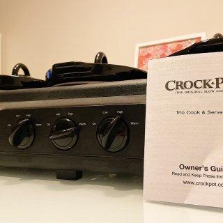 🍚懒人的福音|Crock·Pot慢炖锅 一锅三吃👩🍳