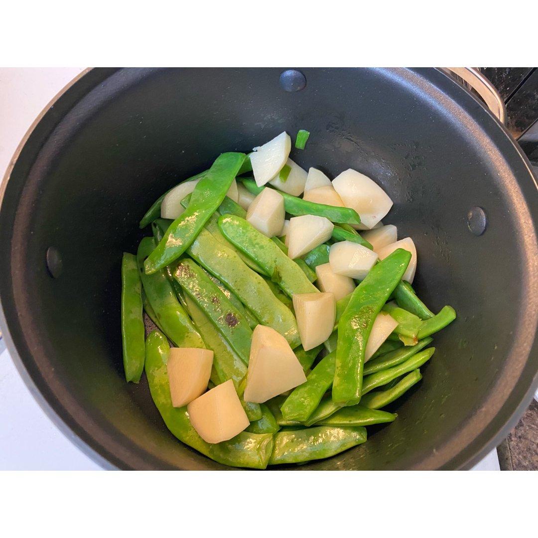 茄子土豆豆角炖排骨做法小秘诀