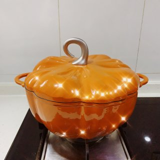 🎃 南瓜珐琅锅 |为厨房增添一丝活泼可爱...