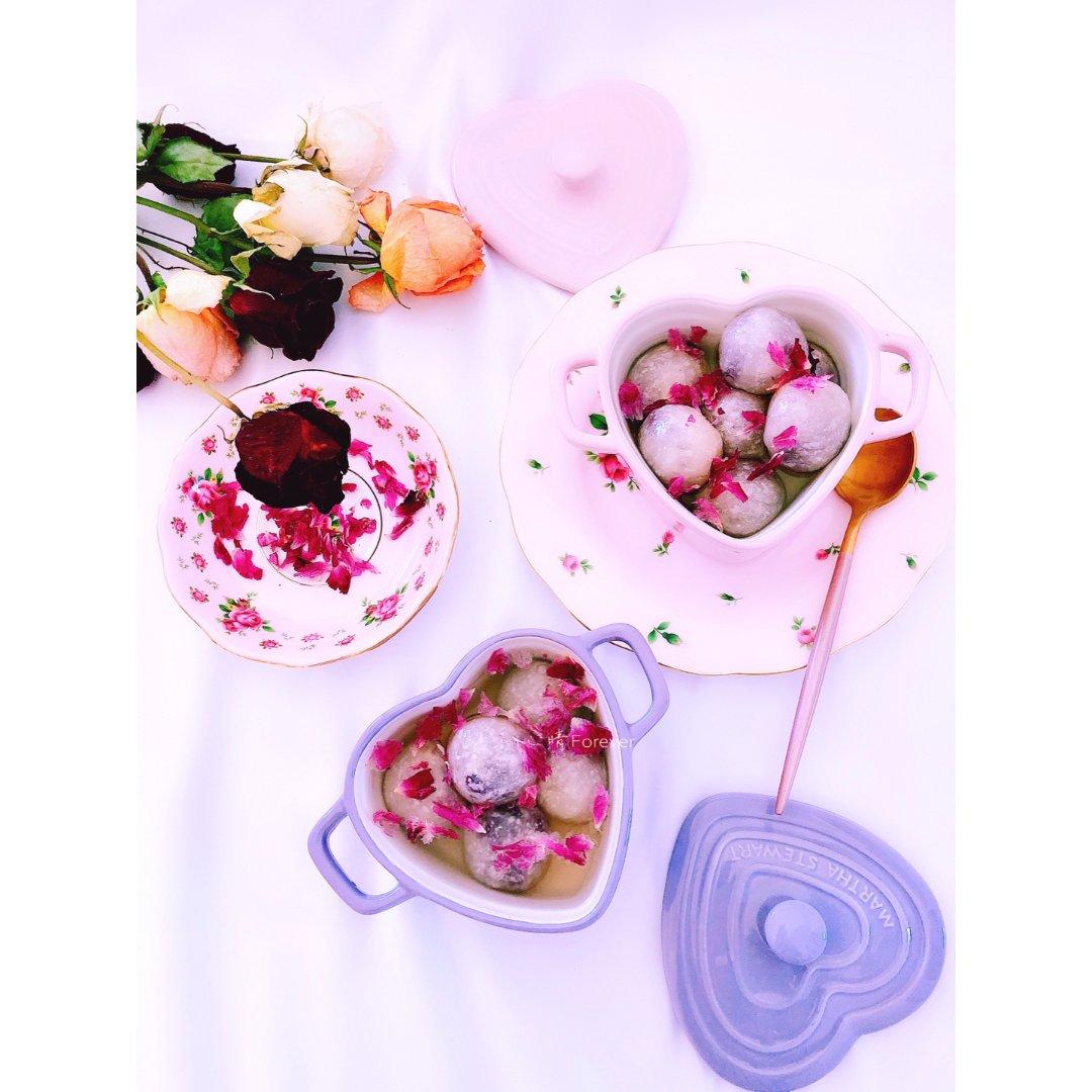 《紫薯水晶汤圆》