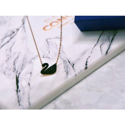 Swarovski黑天鹅项链🦢