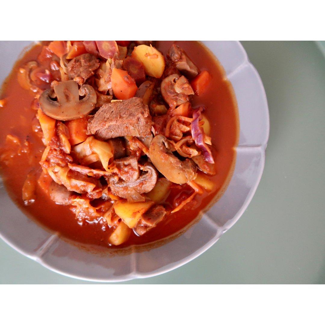 🍅番茄蘑菇炖牛腩👩🏻🍳超简单In...