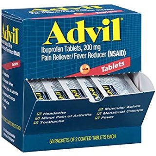 $9.48Advil Liqui-Gels Pain Reliever/Fever Reducer Liquid Filled Capsule 50 Packets