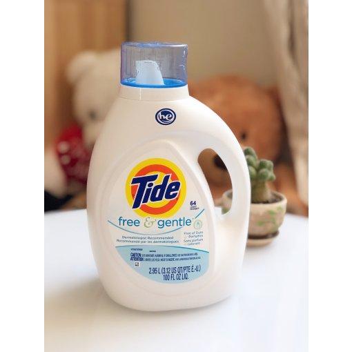 ⚠️湿疹宝宝洗衣液要慎选??推荐Tide F&G