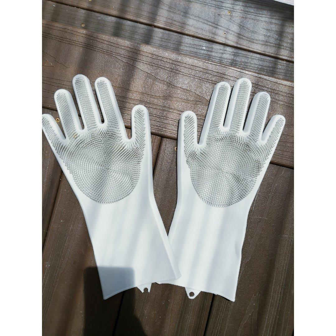 愿12 更新一下自带刷子的洗碗手套