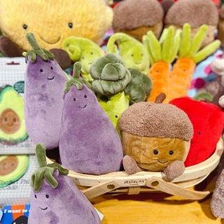 Jellycat蔬菜系列💕想要一篮子都提...