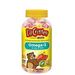 $19.47 (原价$29.97)L'il Critters 儿童维生素软糖120粒,3瓶装