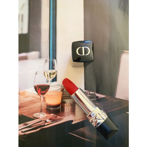 【Sephora战利品】最正的红色:Dior 999哑光