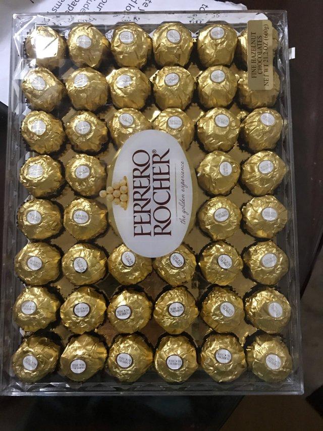 最近爱买巧克力