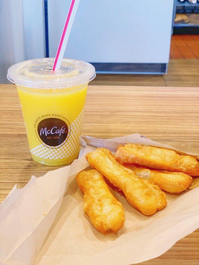 【周三饭事】麦当劳早餐油条名不虚传👍🏻!