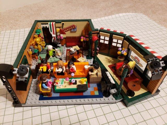 Lego老友记