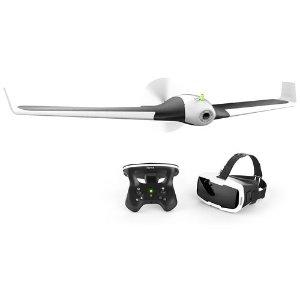 $319 (原价$1299.99)Parrot Disco 固定翼无人机 + Skycontroller 2 控制器 & FPV 眼镜