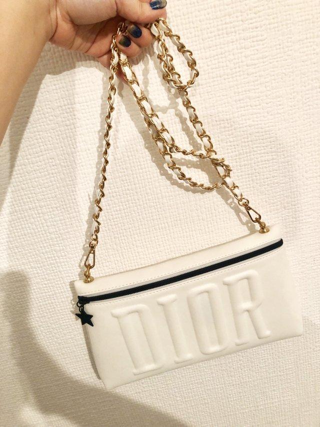 Dior 化妆包改造成链条包