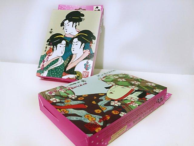 日本浮世绘艺妓面膜