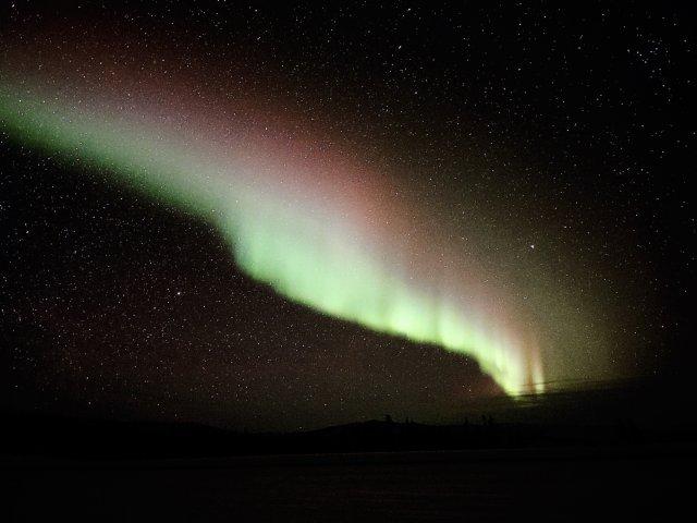 🦋阿拉斯加的北极光