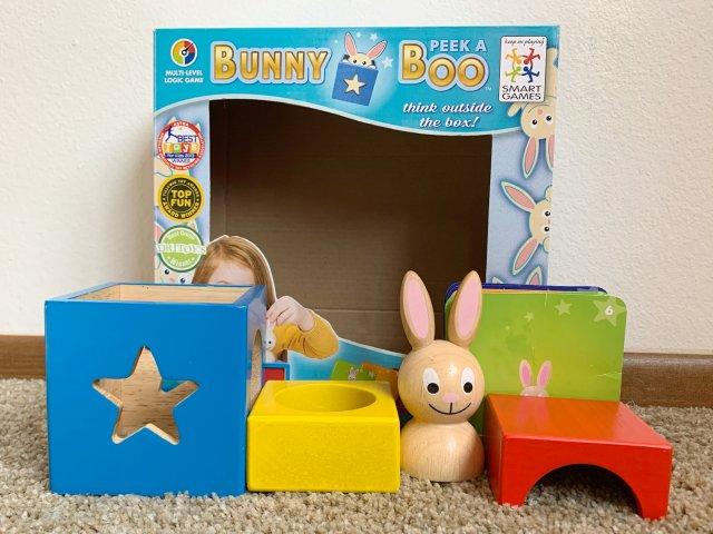 来玩个3D拼图,Bunny Pee...