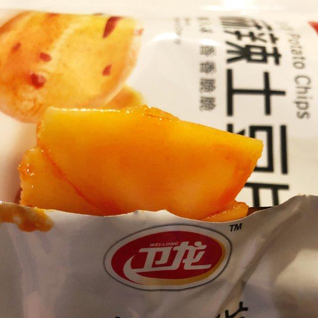 啊~来口麻辣土豆片