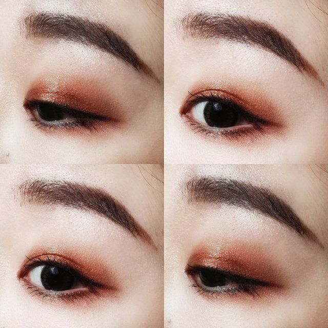 🧚♀️日常➕小性感的古铜眼妆分享