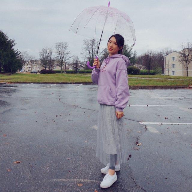 下雨天☔了怎么办~我有雨伞🌂