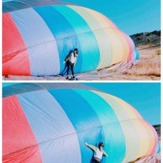 Napa不只有酒庄🍷还可以坐热气球上天哦...