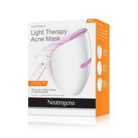 Amazon.com : Neutrogena Light Therapy Acne Treatment Face Mask, Chemical & UV-Free with Clinically Proven Blue & Red Acne Light Technology, Gentle for Sensitive Skin, 1 ct : Beauty