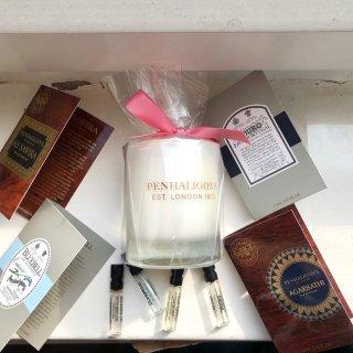 下单送蜡烛,或只付£5.5潘海利根萨姆茶...