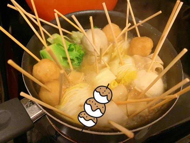 3分钟搞定汤头的关东煮🍢