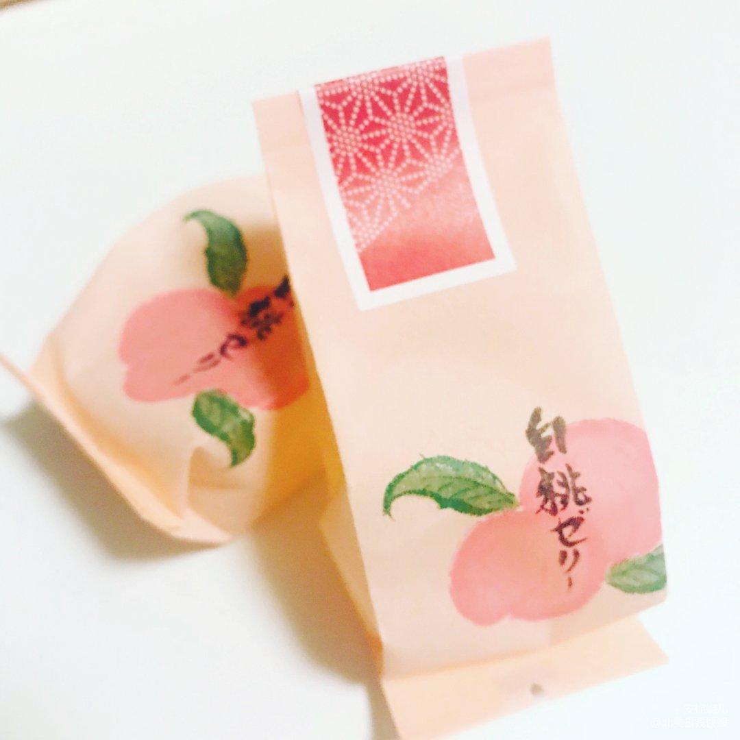 冬天就要吃甜蜜的白桃果冻
