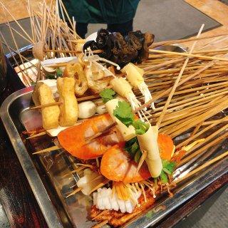 吃串串香凑小刺猬...