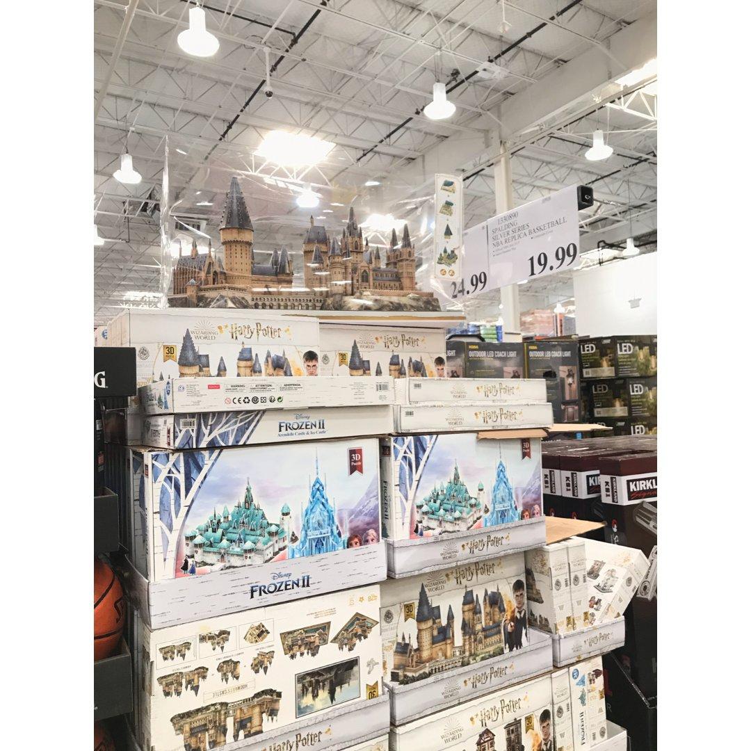 Costco惊现哈利波特城堡🏰