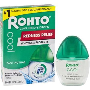$4Rohto V Redness Reliever Eye Drops