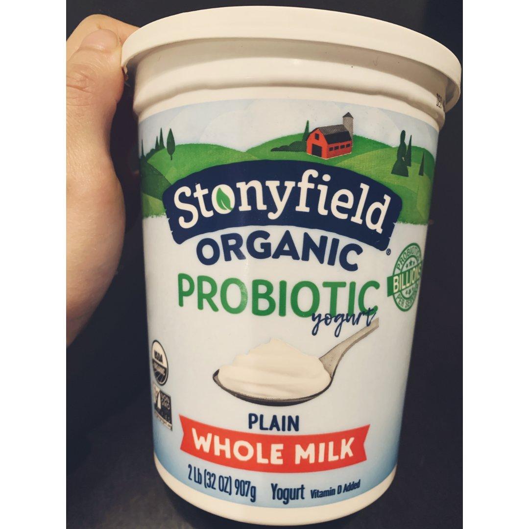 Stonyfield 有机酸奶