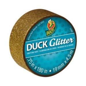 Duck Brand Glitter Crafting Tape . Gold . 0.75 in x 5 yds - Walmart.com